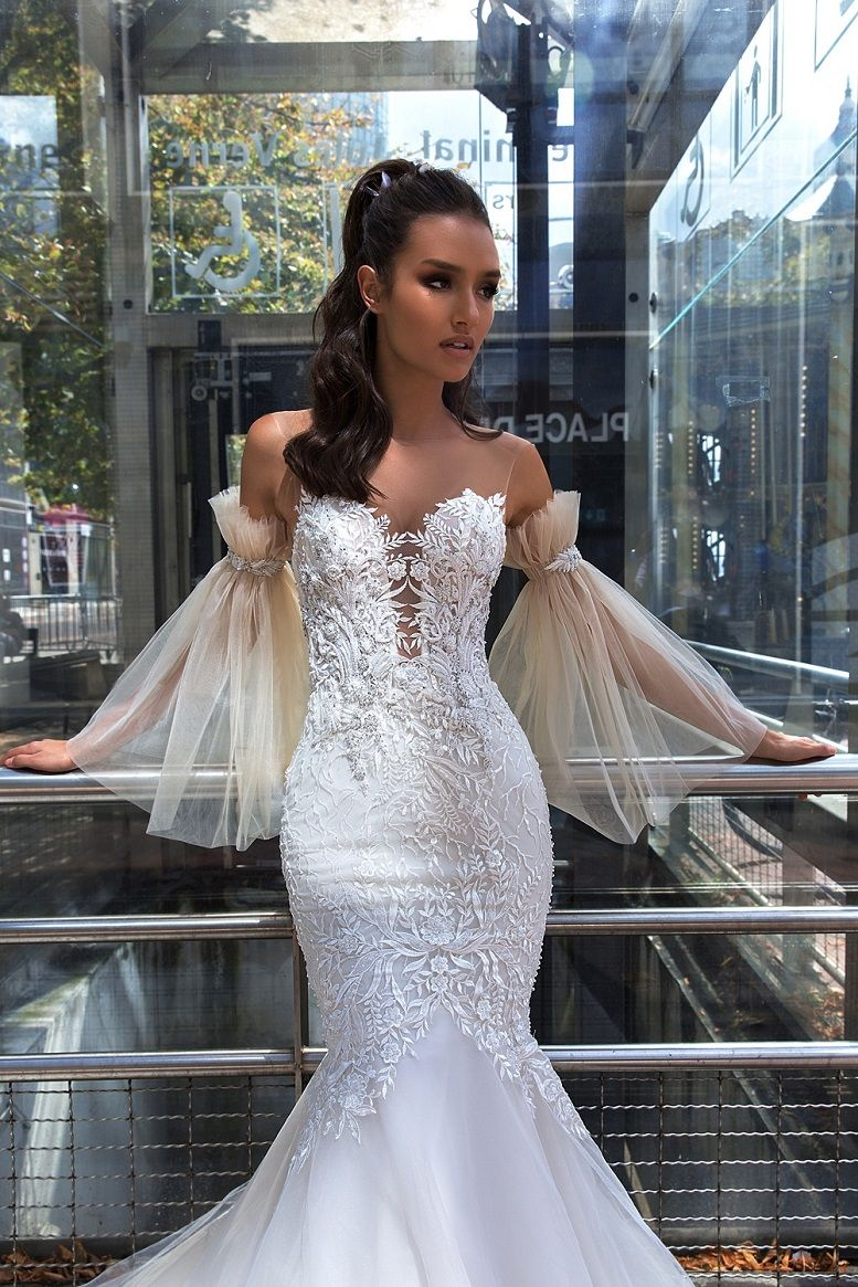 Crystal Design Couture 2019 Wedding Dresses - Paris Collection 2019 Bridal Collection Bridal Wedding Dresses #weddingdress #weddinggown #weddingdresses #bridalgown