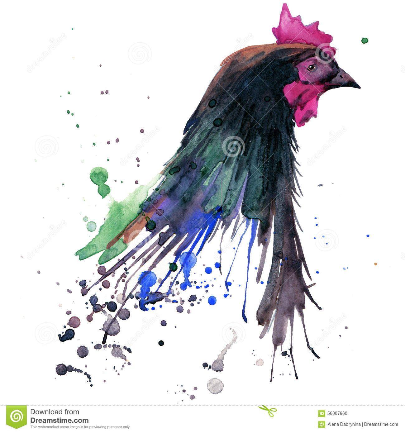 galline acquerello - Cerca con Google