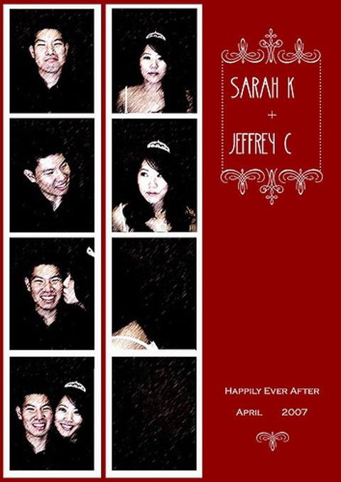 Do It Yourself Photo Booth Style Wedding Save The Dates And Invitations