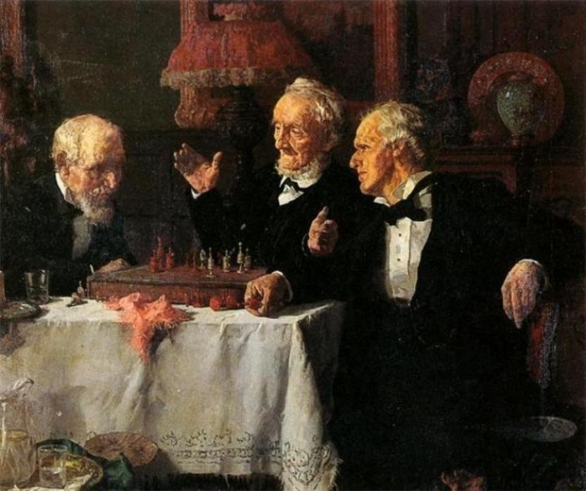 Moeller, Louis Charles (b,1855)- Chess, II