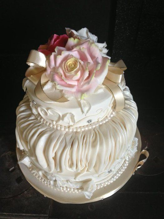 Nana Greens 80th Birthday Cake By Lmcakedesign