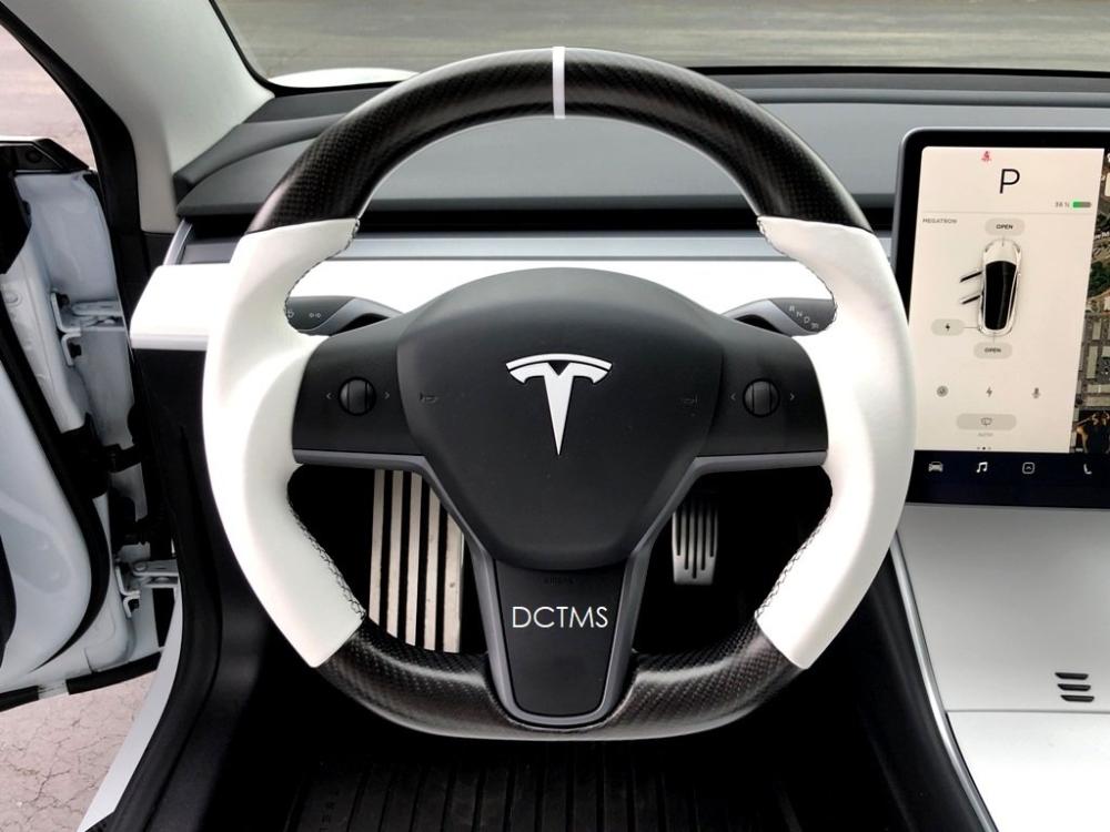 Dctms Tesla Model3 Steering Wheel Project Show Case 6speedonline Porsche Forum And Luxury Car Resource Steering Wheel Tesla Porsche