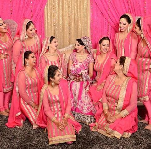 Punjabi Wedding Dress Code Indian Wedding Bridesmaids Dress