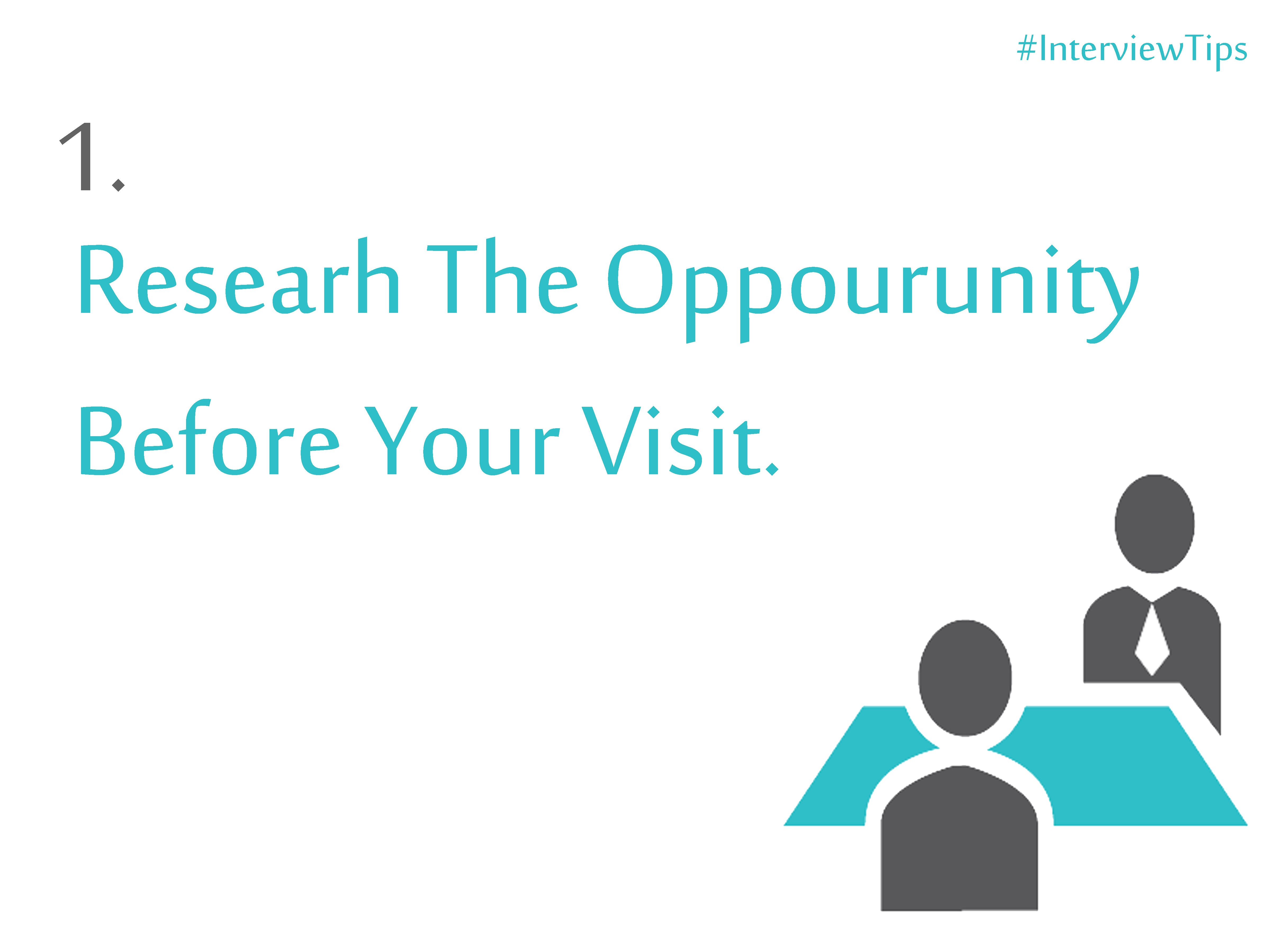 Interviewtips It Is Said That The First Impression Is