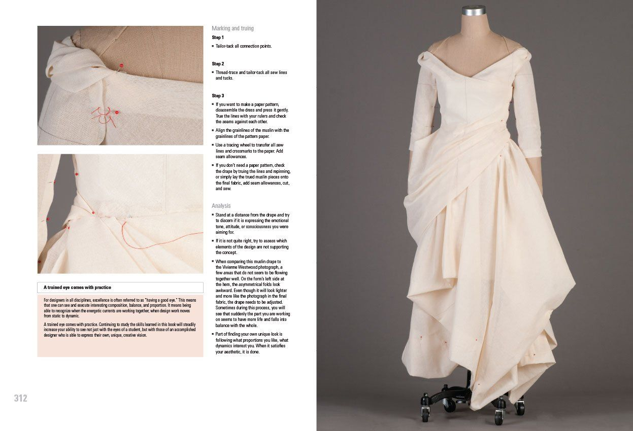 Draping Art And Craftsmanship In Fashion Design Free Download