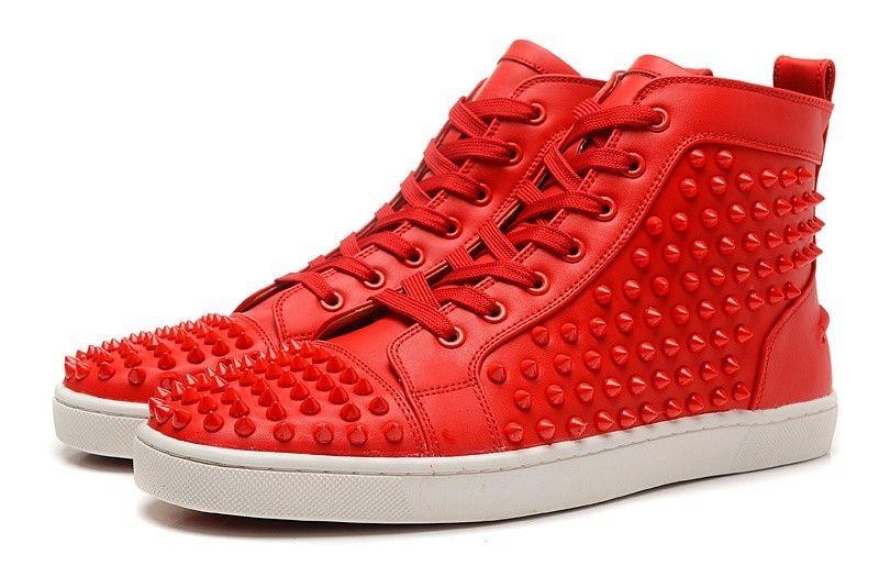 acheter populaire 2ec28 0003e Chaussure Louboutin Pas Cher Homme Souliers Rouge7 ...