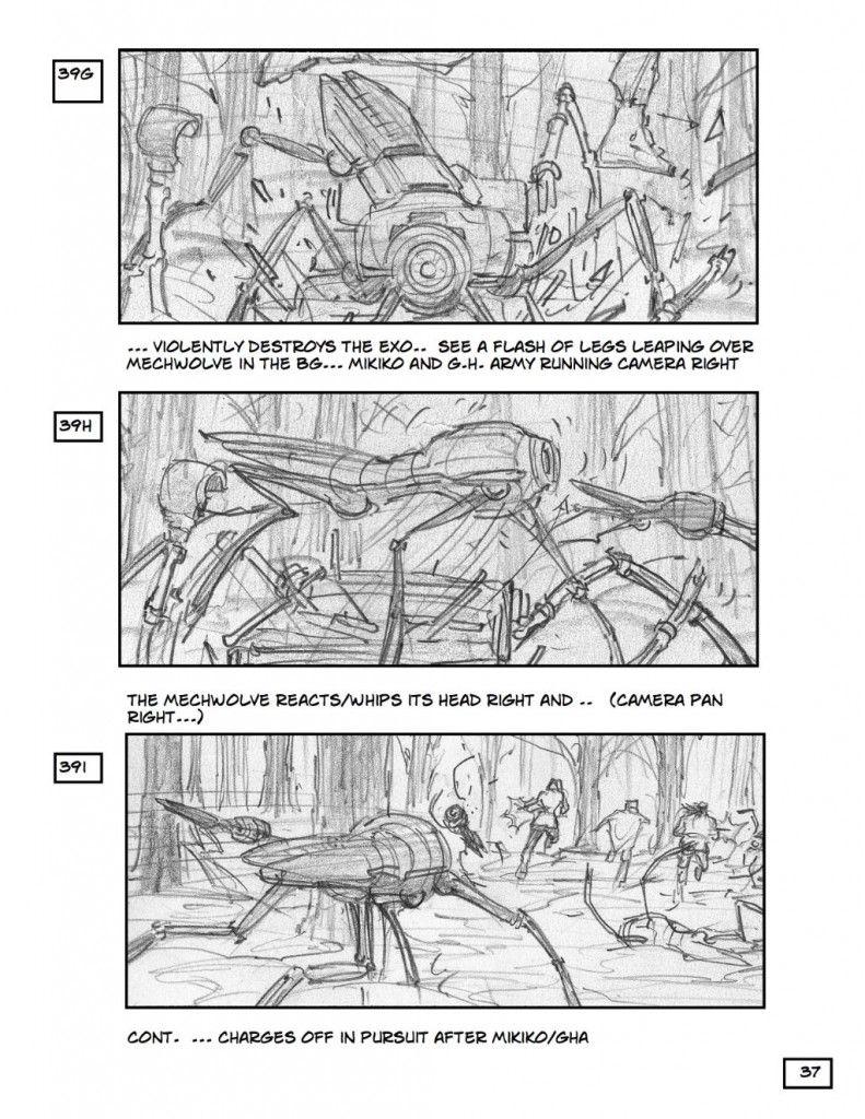 robopocalypse storyboard