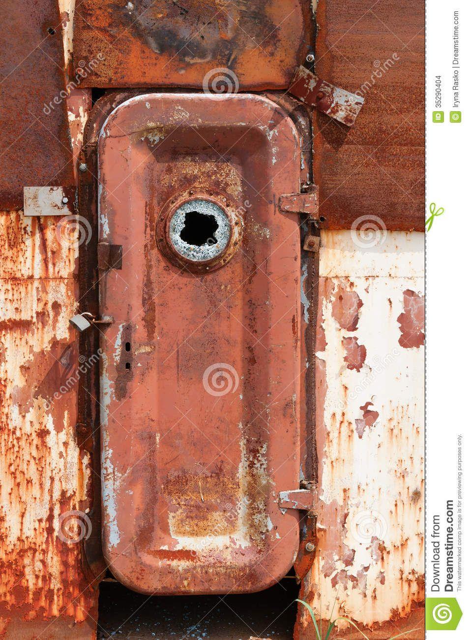 rusty ship door - Google Search & rusty ship door - Google Search | Portals | Pinterest