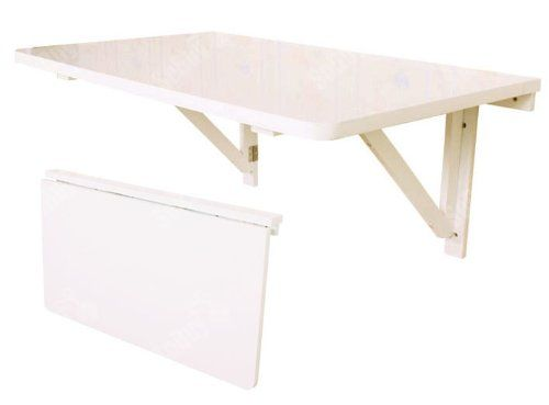 SoBuy Large Size Wall Mounted Drop Leaf Table, Folding Dining Table Desk,