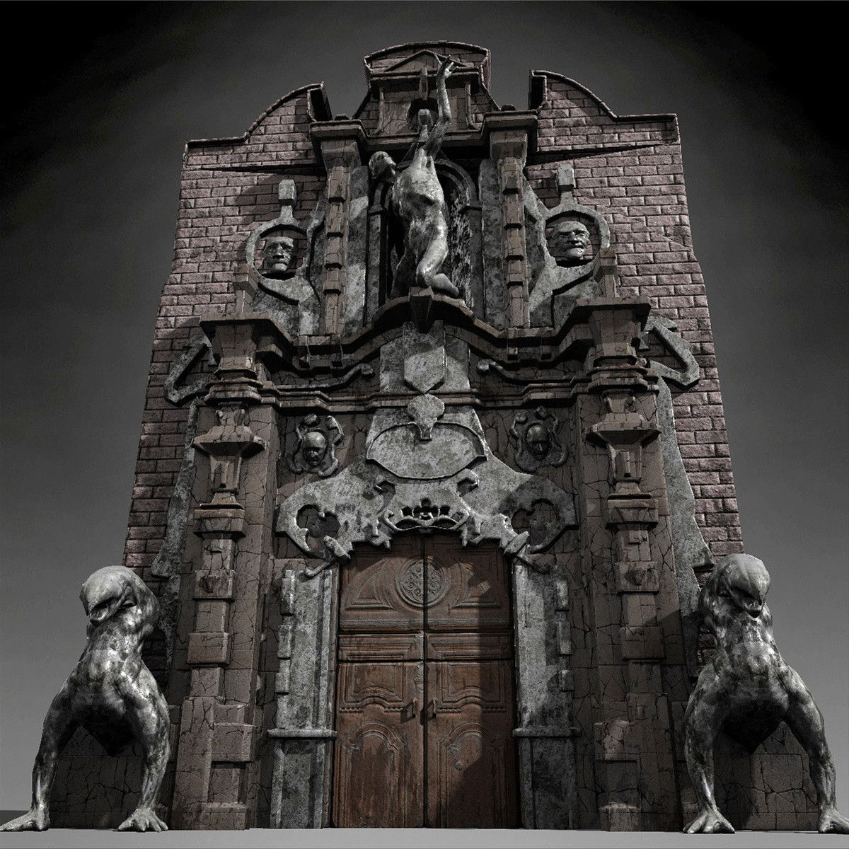 3ds max hell gate