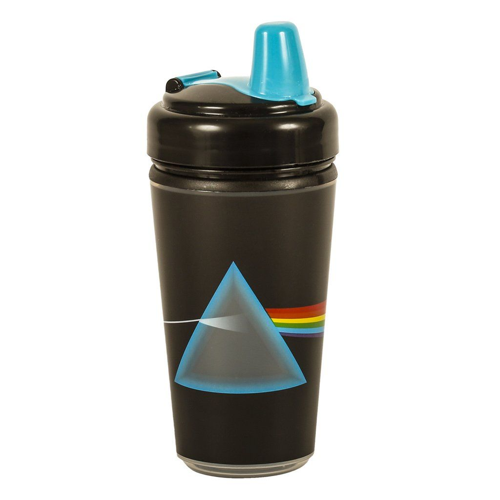 "493fc8146b Pink Floyd ""Dark Side Of The Moon"" Sippy Cup - Rock baby & toddler clothes  and gifts at My Baby Rocks"