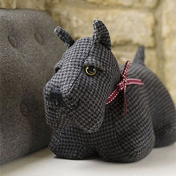 Cambpell The Scottish Dog Door Stop From Strawberry Fool Scottie
