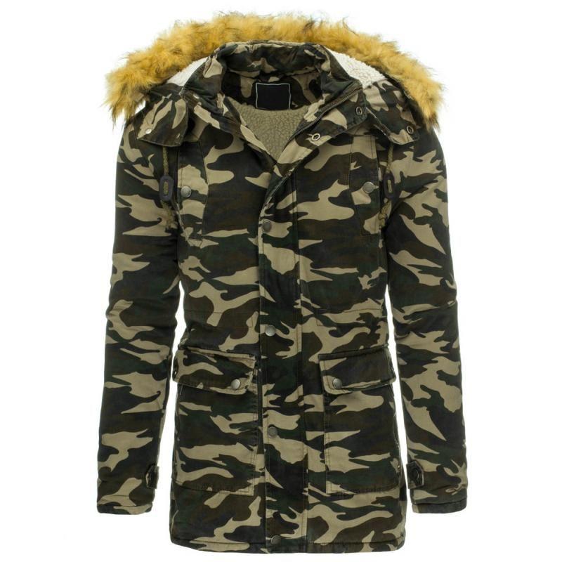 8bbe1aa73 Pánská maskáčová stylová bunda (parka) | Pánské bundy | Pánská bunda
