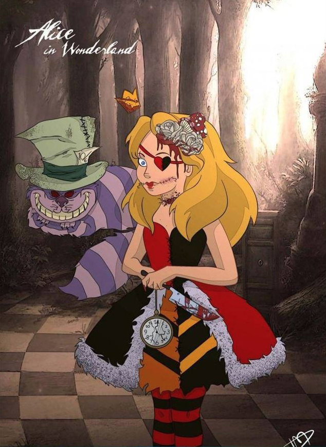 Alice Monster version (Credits to the author)