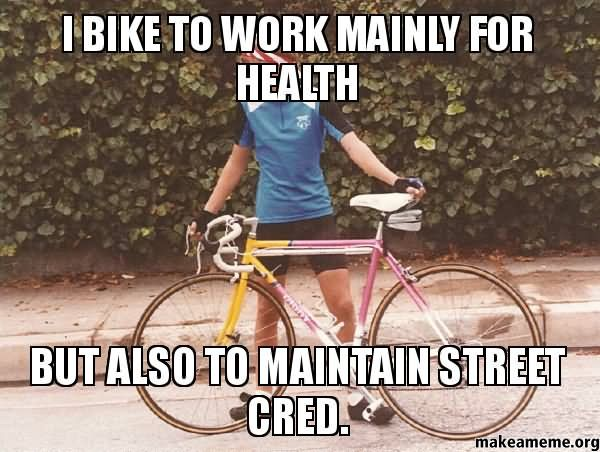 Cycling To Work Meme