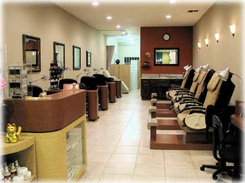 pedicure nail spa salon interior spa design nail salons salon ideas