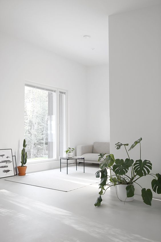 Pinned to Nutrition Stripped Home #white rooms \ spaces