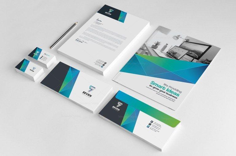Seven Corporate Identity Pack Design Template - Graphic Mega | Graphic Templates Store