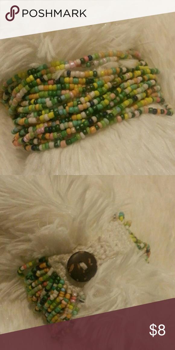 Brand new beaded bracelet Brand new never worn Jewelry Bracelets