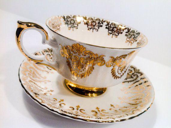 Antique Paragon Fine Bone China England by by JoyJoeTreasures