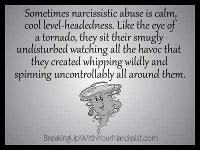 The chaos they create is their narcissistic supply.