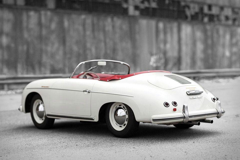 1956 Porsche 356 A 1600 Speedster Driven Pinterest Porsche