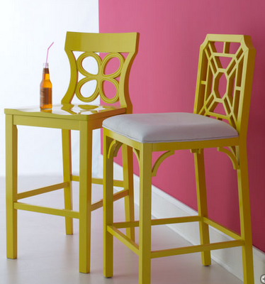 Alternate Barstools They Dont Have To Match Then Paint To Match It Looks Like A Complete Set