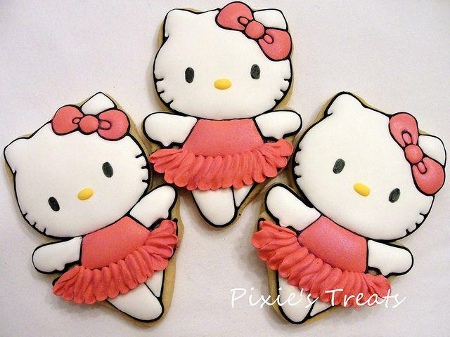 Hello Kitty by Pixie's Treats, via Flickr