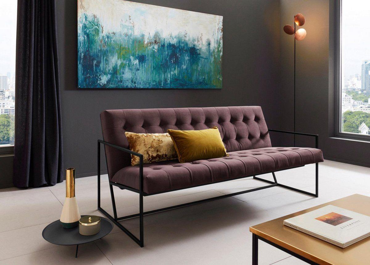 2 5 Sitzer Im Lounge Style Lounge Home Decor Sofa