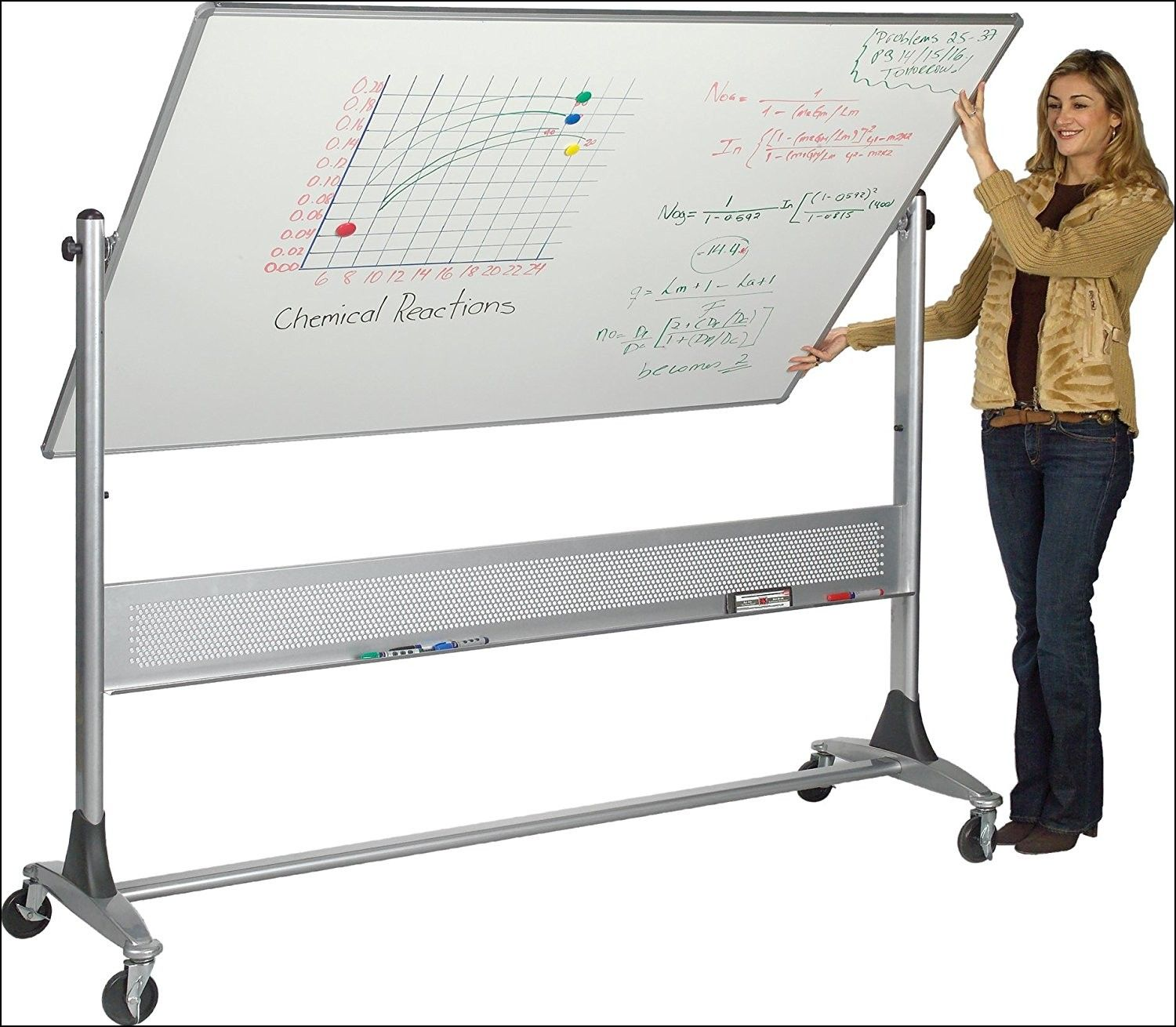 Large Whiteboard On Wheels Dry Erase Board Whiteboard On Wheels Dry Erase