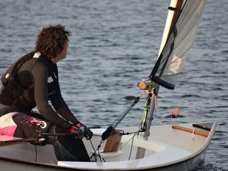 Viola 14 Sailing Canoe Plan – plywood sailing dinghy