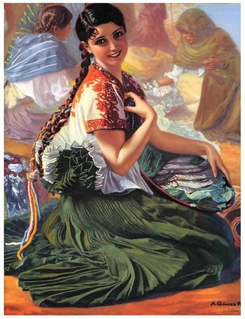 pin up mexicaine