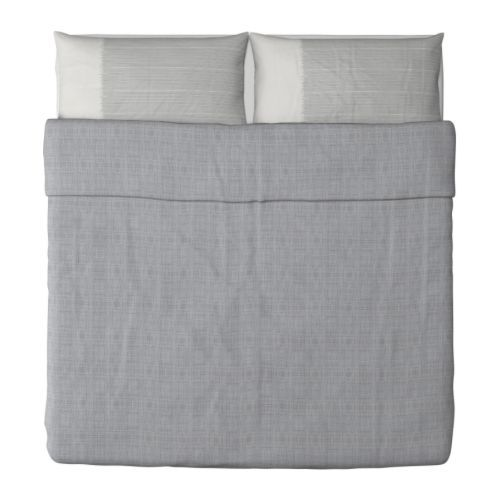 I Like This Calm Gray Duvet Cover And Shams. There May Be
