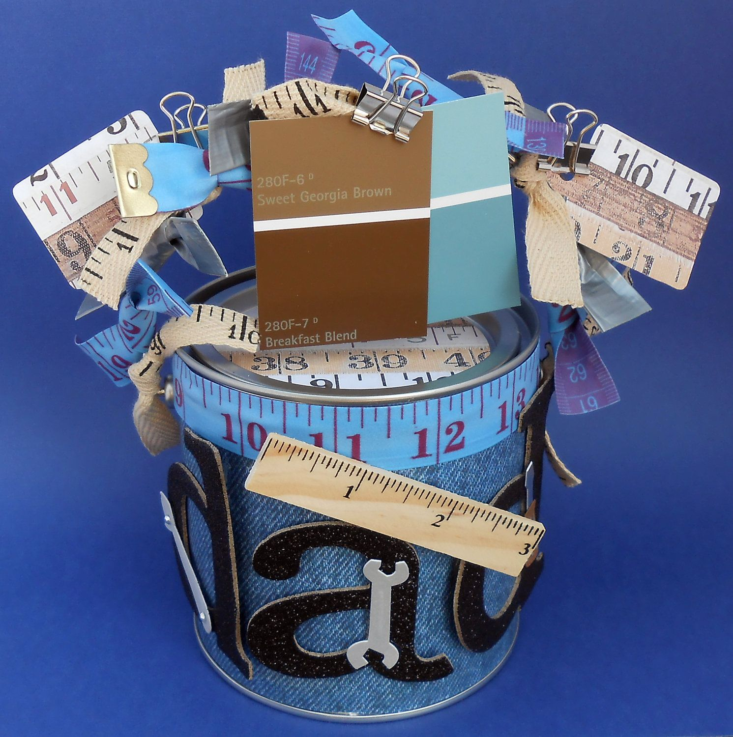 Fathers day gift container gift packaging altered