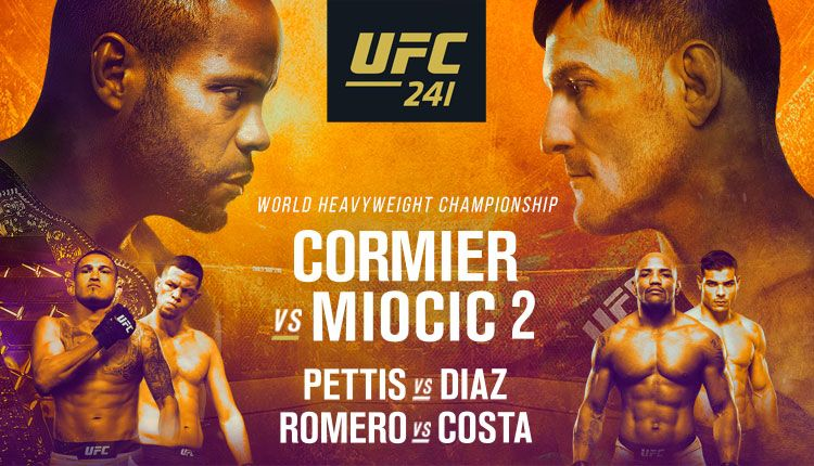 How to watch ufc 241 cormier vs miocic live without cable