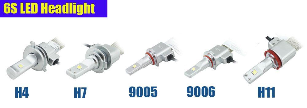 2X CREE 80W 10000LM 6000K Auto Car LED Headlight HB3 9005