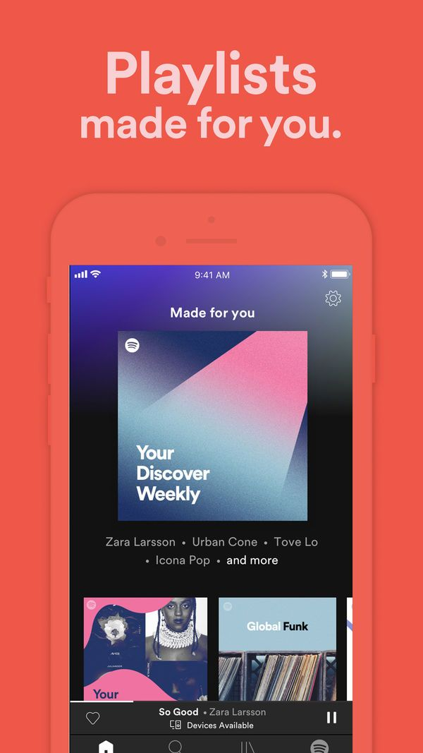 Spotify Music and Podcasts on the App Store Spotify