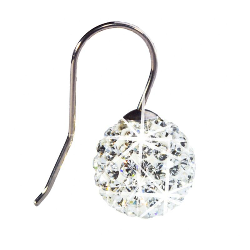 Blomdahl NT Crystal Ball Pendant 12mm White J