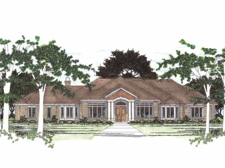 Pin By Jennifer Highland King On Brigadoon In 2019: Eplans New American House Plan