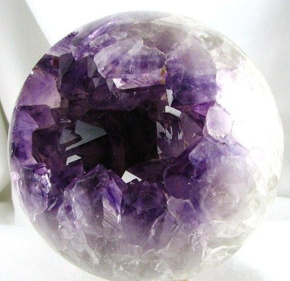 Astounding Hand Carved Polished Amethyst Crystal Sphere Coffee Table Home Interior And Landscaping Ferensignezvosmurscom