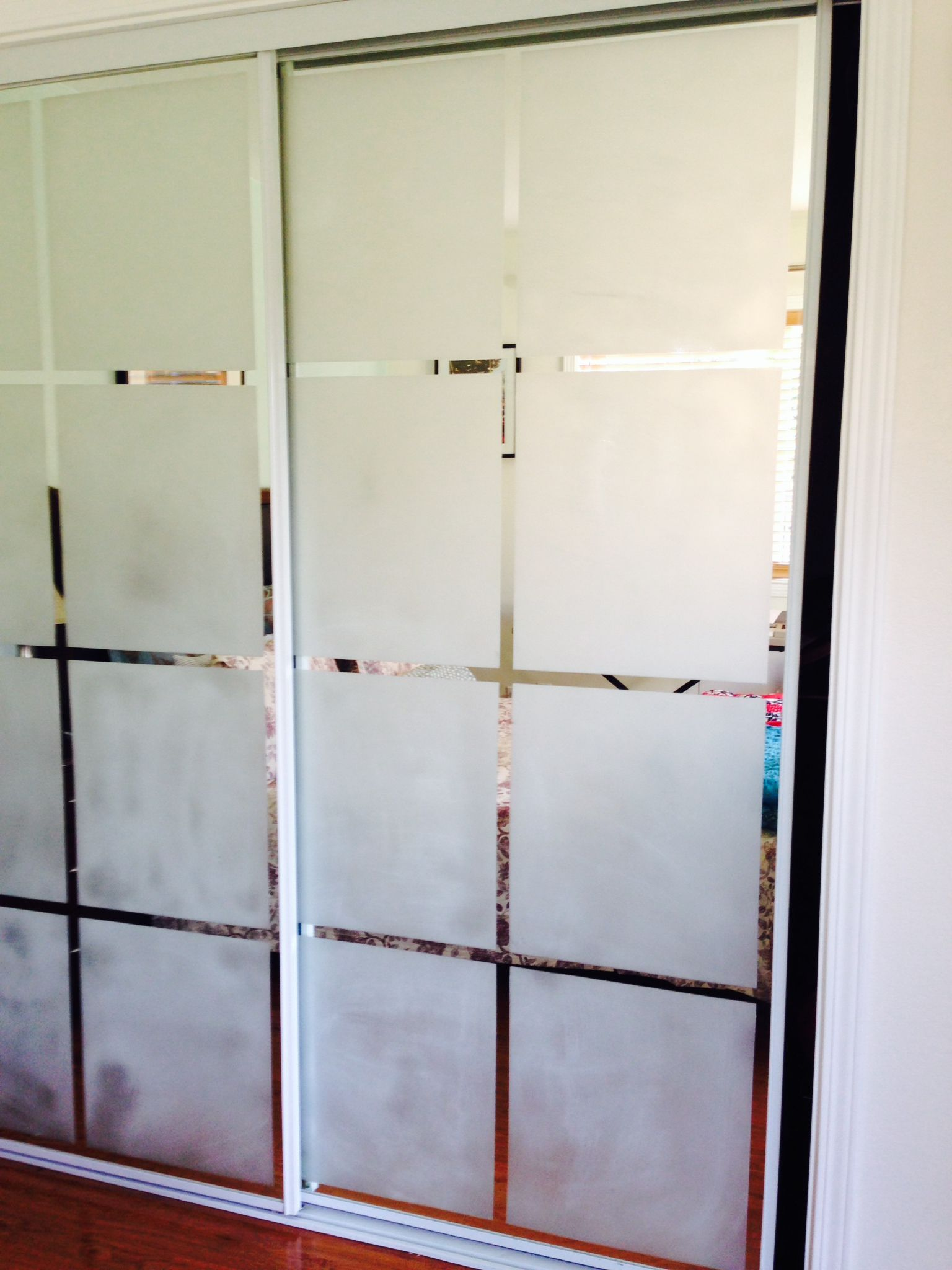 Fine Diy Frosted Glass Shower Doors Old Mirror Closet Give It A Style Statement With Just Some To Inspiration