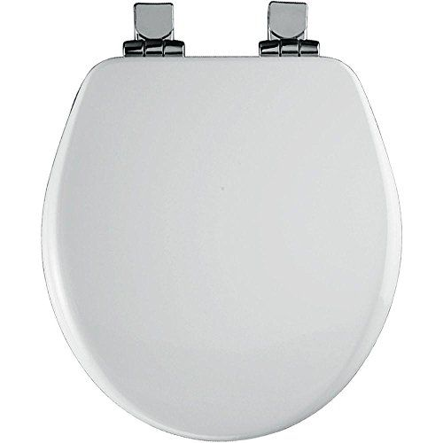 Round Closed Front High Density Molded Wood Toilet Seat With Cover
