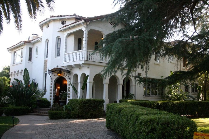 Acacia Mansion Ojai California Event And Wedding Locations Santa Barbara Venues