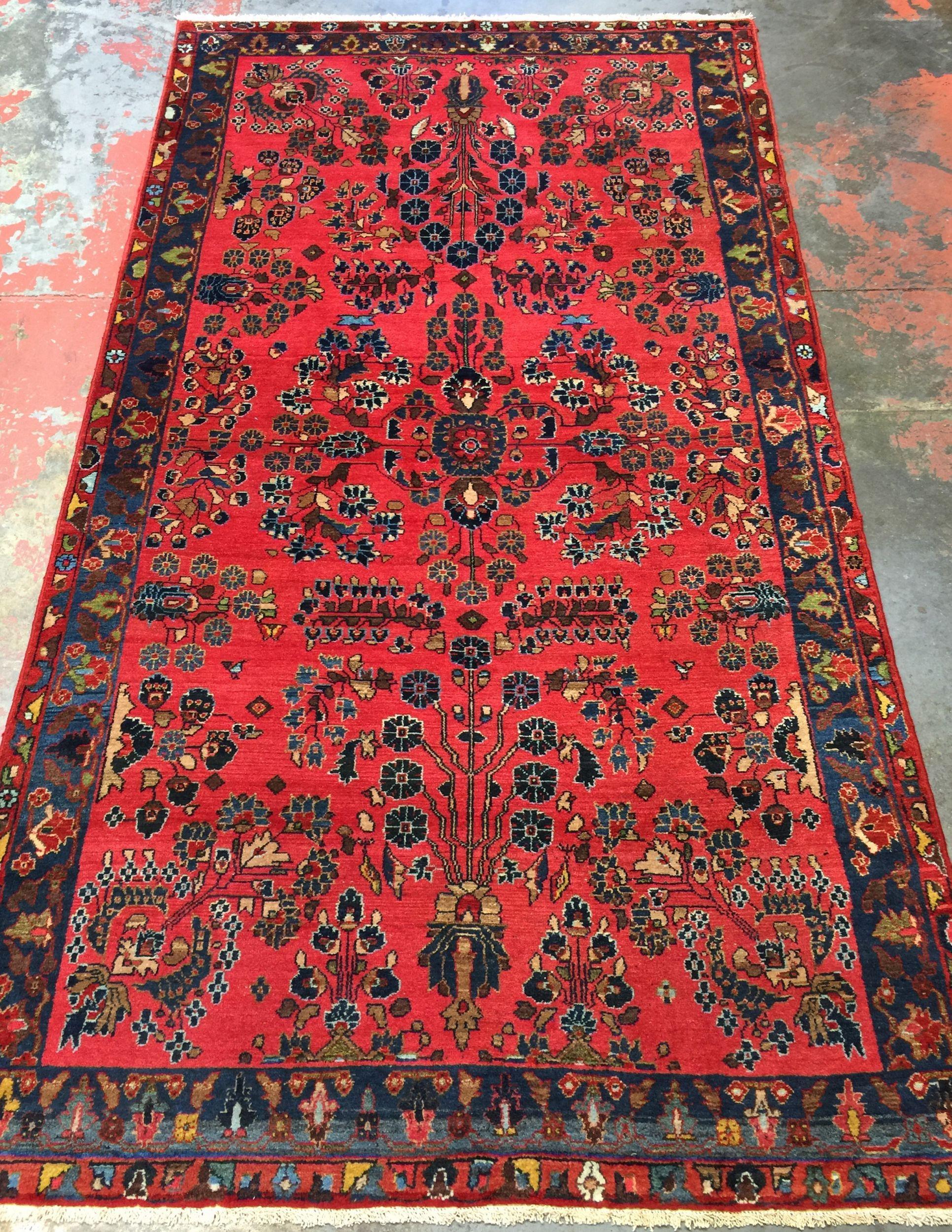 Persian Mehriban Rug 4 5 X 8 1 Oriental Persian Rugs Scandinavian Rug Rugs On Carpet