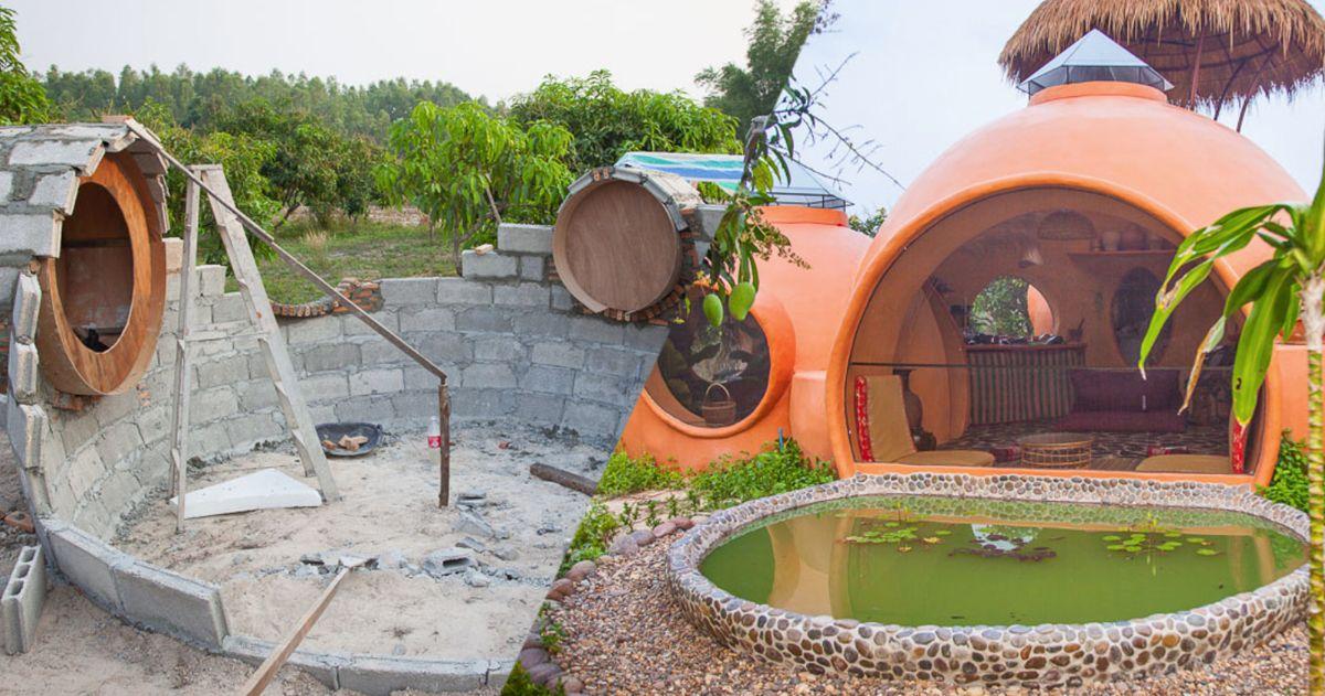 Avec 6500 euros en poche, cet homme a bâti la maison de ses rêves en