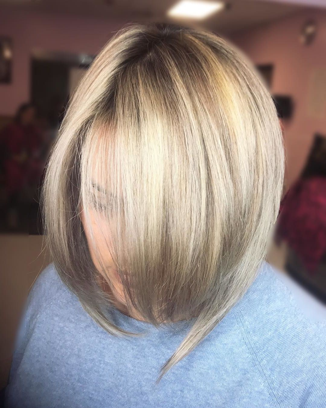 25 Ash Blonde Balayage Hair Color Ideas #lightashblonde