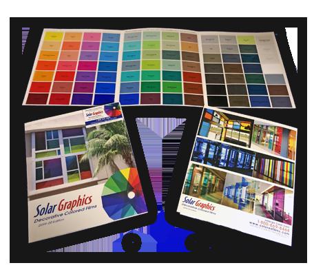 New 2019 20 Color Chart In 2020 Window Graphics Decorative Window Film Color Film