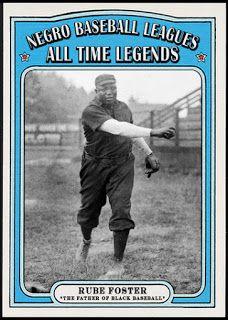 When Topps Had Baseballs Negro League Legends Rube