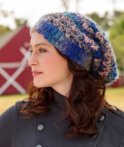 Charming Slouchy Hat DESIGNED BY Cristina Mershon Free Crochet ...