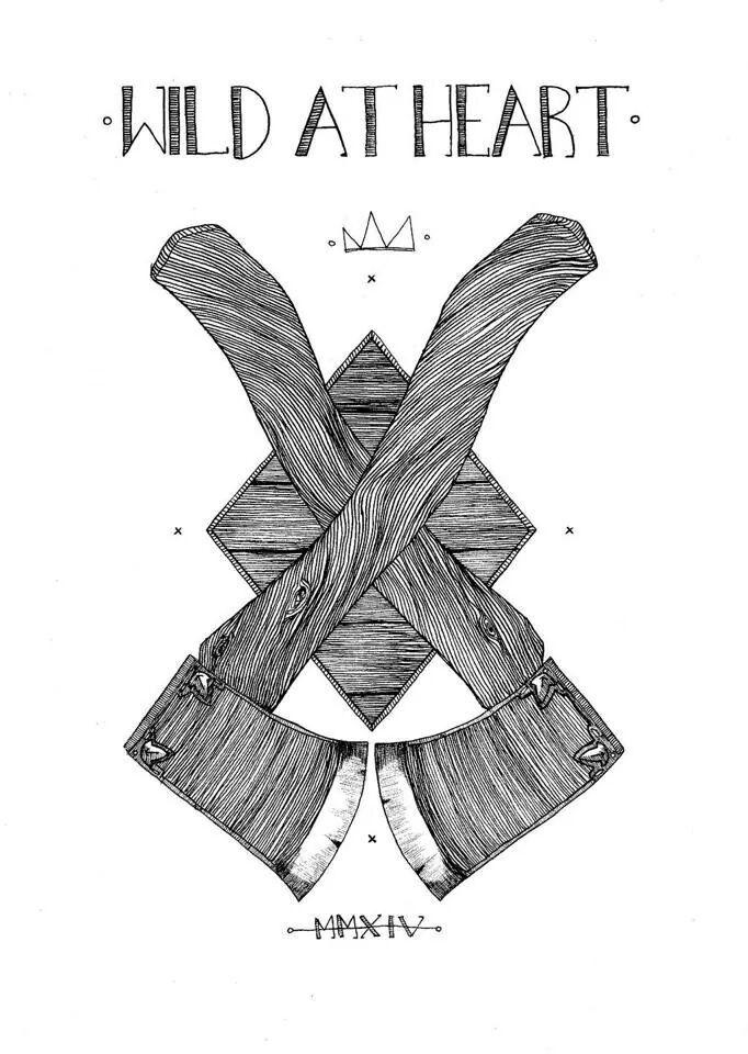 At heart art wild X